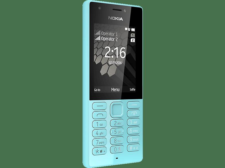 NOKIA 216 Dual Sim Mint Blau, Handy
