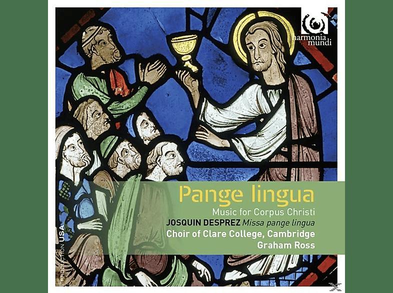 Michael Papadopoulos, Choir Of Clare College Cambridge - Pangue Lingua [CD]