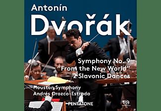 Houston Symphony - Sinfonie 9/Slawische Tänze 3+5  - (SACD)