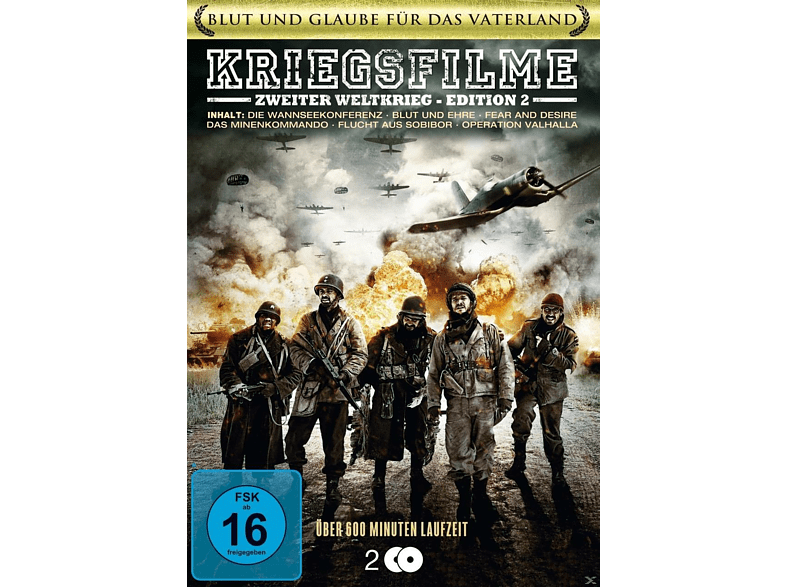 Kriegsfilm Box - Edition 2 [DVD]