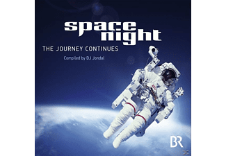 VARIOUS - Br - Space Night - The Journey Continues Compiled By Dj Jondal - (CD)