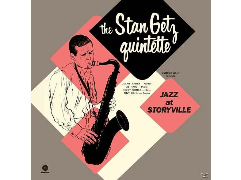 Stan Quintet Getz - Jazz At Storyville+5 Bonus Tracks (Ltd.180g Vin [Vinyl]