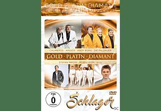 VARIOUS - SCHLAGER - GOLD-PLATIN-DIAMANT  - (DVD)