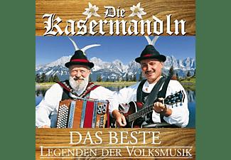 Kasermandln - DAS BESTE - LEGENDEN DER VOLKSMUSIK  - (CD)