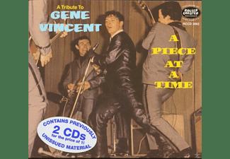 Vincent, Gene & Blue Caps, The - A Piece At A Time-A Tribute To Gene Vincent (2-C  - (CD)