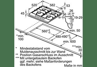 NEFF Gas-Kochmulde TDS 2649 N