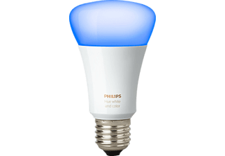 PHILIPS Glühbirne Hue LED E27 Einzellampe White and Color Ambiance