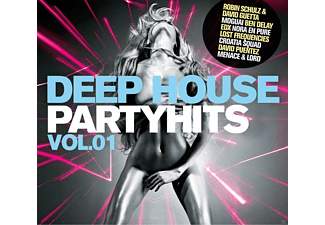 VARIOUS - Deep House Partyhits Vol.1  - (CD)
