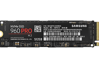 SAMSUNG 960 PRO NVMe M.2, 512 GB, SSD, intern