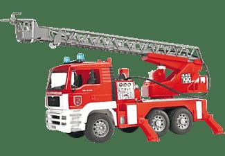 BRUDER MAN TGA Feuerwehr m. Drehl.+L&S+Wasserp. Retttungsfahrzeuge Mehrfarbig