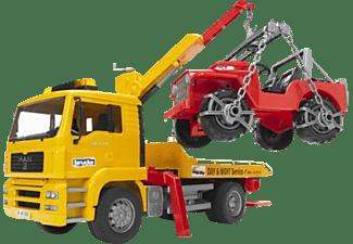 BRUDER MAN TGA Abschlepp-LKW mit Geländewagen LKW m. Funktion Mehrfarbig