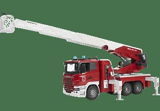 BRUDER Scania Feuerwehrleiterwagen plus Licht und Sound Module Zubehör m. Funktion Mehrfarbig