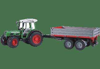 BRUDER Fendt 209S m. Bordwandanhänger Traktor Mehrfarbig