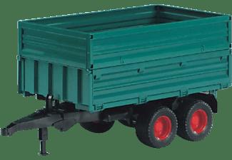 BRUDER Tandemachs-Transportanhänger Traktor-Zubehör Mehrfarbig