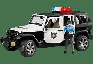 BRUDER Jeep Wrangler UR Polizei PKW m. Funktion Mehrfarbig