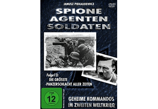 Spione, Agenten, Soldaten - Folge 13: Die größte Panzerschlacht aller Zeiten DVD