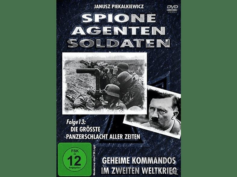 Spione, Agenten, Soldaten - Folge 13: Die größte Panzerschlacht aller Zeiten [DVD]