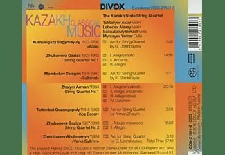 Kazakh State String Quartet - Music for String Quartet by Kazakh Composers  - (CD)