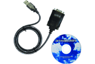 CELESTRON 821035BA USB/RS232 Konverter mit Kabel, Astronomie, Schwarz