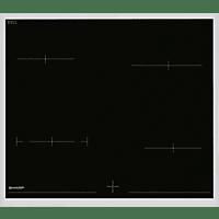 SHARP K-62D19IM0-EU, Einbauherdset (Elektrokochfeld, A, 69 Liter)