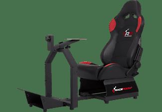 RACEROOM Gaming-Sessel für PC, PlayStation und Xbox, schwarz/rot (75001102)