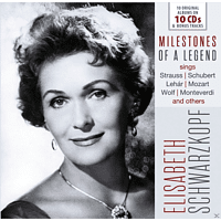 Elisabeth Schwarzkopf, The Philharmonia Orchestra - Elisabeth Schwarzkopf-Milestones Of A Legend - [CD]