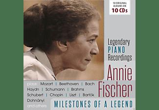 Annie Fischer - Annie Fischer-Milestones Of A Piano Legend  - (CD)