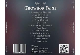 Rebecca_1147 - Growing Pains  - (CD)