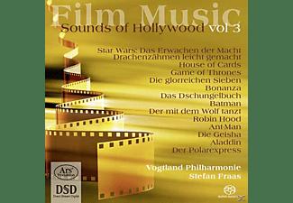 Synelnikov/Manz/Fraas/Vogtland Philharmonie - Film Music-Sounds of Hollywood Vol.3  - (SACD Hybrid)