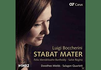 Dorothee Mields, Salagon Quartett, VARIOUS - Stabat Mater/Salve Regina  - (CD)