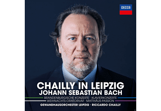 Ramin Bahrami, Gewandhausorchester Leipzig, Dresdner Kammerchor, Thomanerchor Leipzig, Tölzer Knabemchor - Chailly In Leipzig  - (CD)