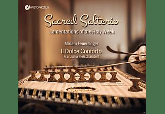 Jonathan Pesek, Deniel Perer, Il Dolce Conforto, Miriam Feuersinger - Sacred Salterio-Lamentations of the Holy Week  - (CD)