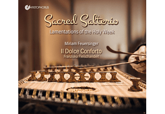 Jonathan Pesek, Deniel Perer, Il Dolce Conforto, Miriam Feuersinger - Sacred Salterio-Lamentations of the Holy Week - (CD)