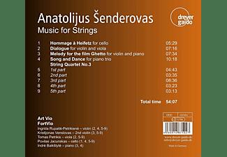 Art Vio, Fortvio - Music for Strings  - (CD)