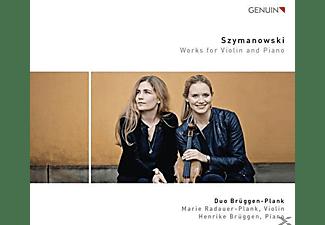 Marie Radauer-Plank, Henrike Brüggen - Werke für Violine und Klavier  - (CD)