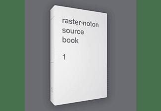 VARIOUS - Raster-Noton. Source Book 1 (Book+CD)  - (CD + Buch)