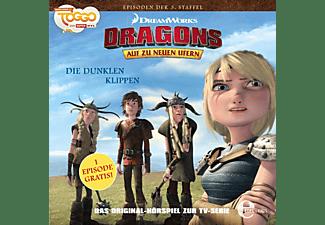 Dragons-auf Zu Neuen Ufern - (25)Hörspiel z.TV-Serie-Die Dunklen Klippen  - (CD)