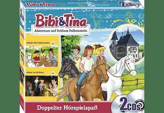 - Bibi & Tina - Abenteuer auf Schloss Falkenstein  - (CD)