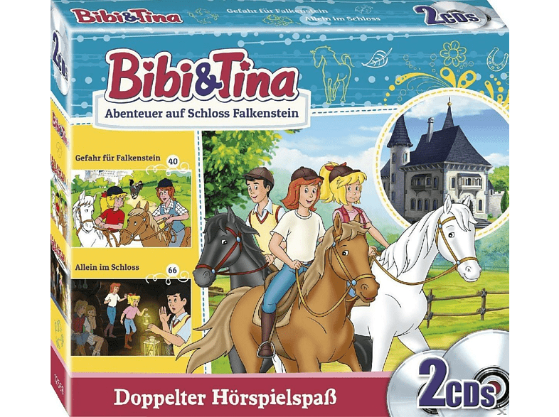 Bibi & Tina - Abenteuer auf Schloss Falkenstein - (CD)