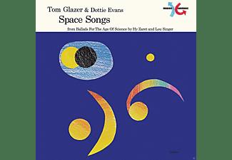 Tom & Dottie Evans Glazer - Space Songs (LP,Colored Vinyl)  - (Vinyl)