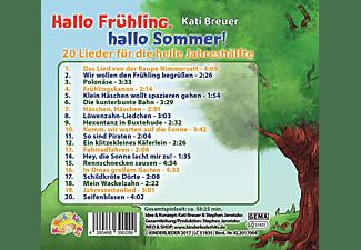 Kati Breuer - Hallo Frühling,hallo Sommer!  - (CD)
