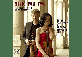 Anton Martynov, Kremena Nikolova - Sonaten für 2 Violinen/Barocksuite für 2 Violinen  - (CD)