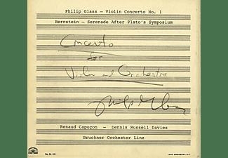 Renaud Capucon, Bruckner Orchester Linz - Violinkonzert 1/Serenade after Plato  - (CD)