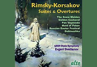 Ussr State Symphony Orchestra - Suiten und Ouvertüren  - (CD)