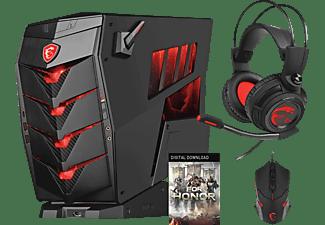 Pc Gaming - Msi Aegis 3Vr7Rd-003Eu, Intel® Core™ I7 7700 16 Gb Ram,  Gtx 1060 6 Gb, 2 Tb+256 Gb Ssd