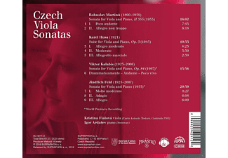 Kristina Fialova, Igor Ardasev - Czech Viola Sonatas  - (CD)