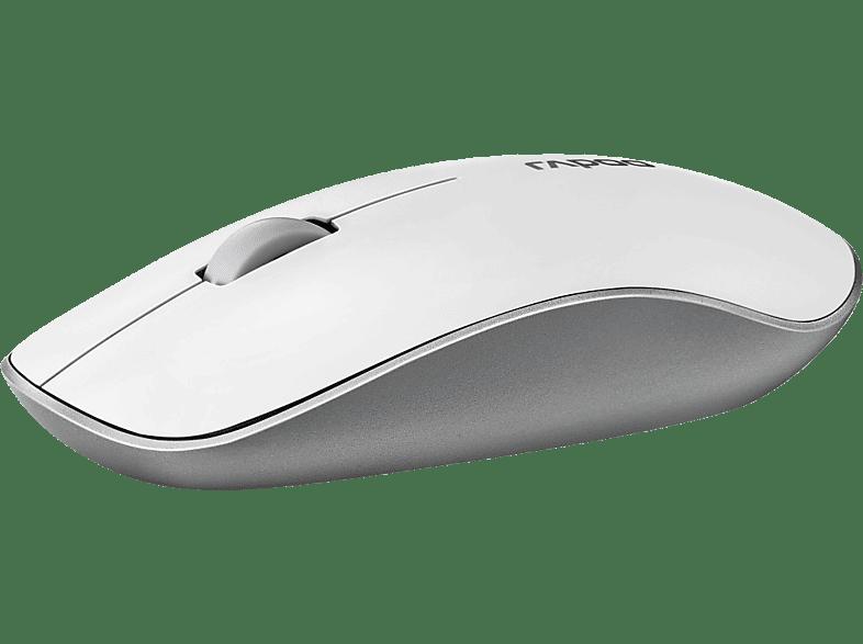 RAPOO 3510P Maus, Weiß