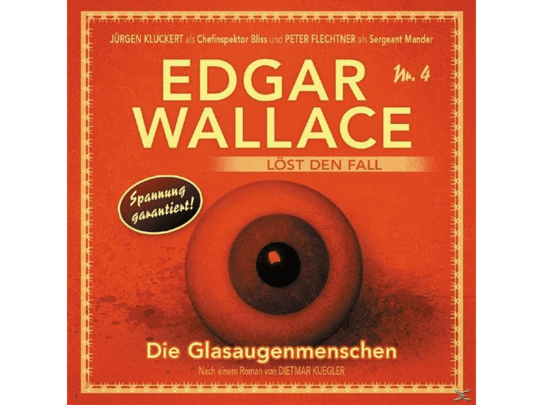 Edgar Wallace - Die Glasaugenmenschen Folge 4 - (CD)
