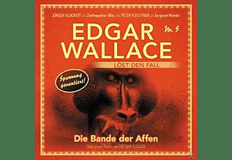 Edgar Wallace - Die Bande der Affen Folge 5  - (CD)