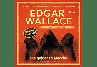 Edgar Wallace - Die goldenen Mönche Folge 6  - (CD)